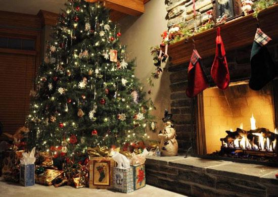 Рождество в хорошей атмосфере