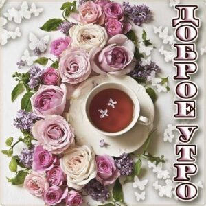 с пожеланием хорошего утра, романтического утра, удачного утра, сказочно красивого утра, сладкого утра, восхитительного утра, бодрого тебе утра