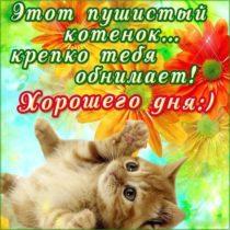 Подборка открытки хорошего дня